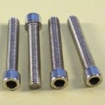M8x50mm Stainless Steel Socket Cap Screw / Allen Bolts (Four Pack)